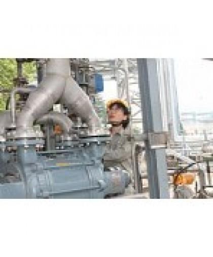 Применение водокольцевого вакуумного насоса или компрессора для добычи нефти и газа