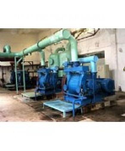 Транспортировка газа с помощью водокольцевых насосов на сахарных заводах