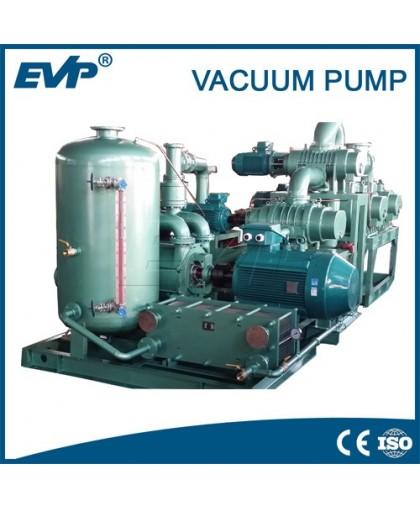 Вакуумная система серии ZJZSK (вакуумный насос Рутса + водокольцевой вакуумный насос серии 2SK)